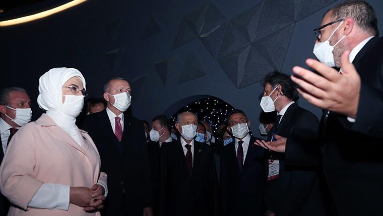 Başkan Erdoğan, 15 Temmuz Demokrasi Müzesi'ni açtı