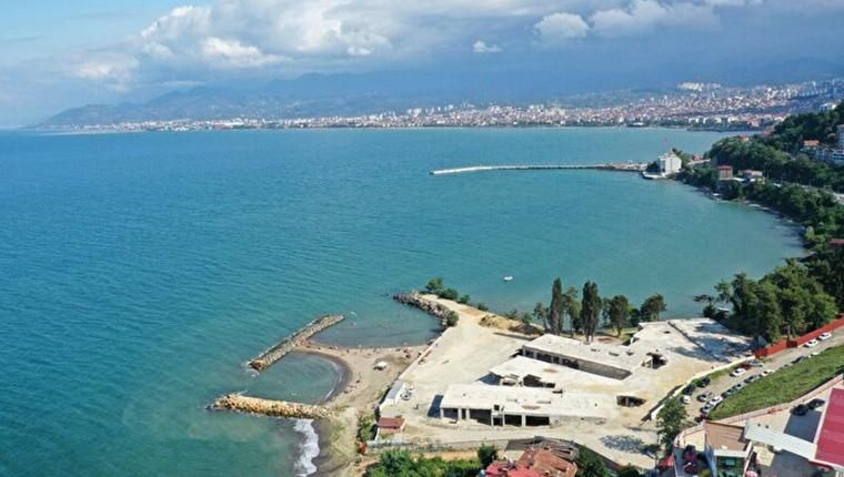 Ordu'daki gökdelenler yıkıldı, plaj halka açıldı!