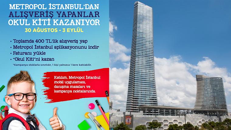 Metropol İstanbul'dan çocuklara okula dönüş hediyesi!