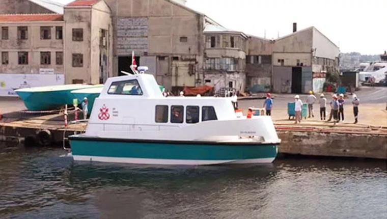 İlk deniz taksiler Haliç'te suya indi