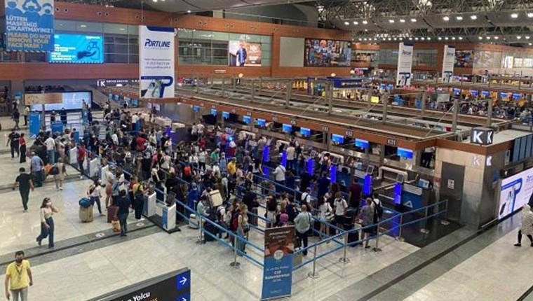 Sabiha Gökçen Havalimanı'ndan 8 ayda 15 milyon yolcu geçti!