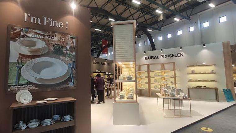Güral Porselen Zuchex Fuarı'nda yeni ürünlerini tanıttı
