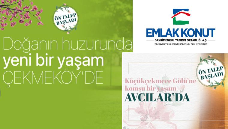 Emlak Konut Avcılar Firüzköy ve Çekmeköy'de ön talep başladı!